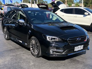 2018 Subaru Levorg V1 MY19 2.0 STI Sport CVT AWD Crystal Black Silica 8 Speed Constant Variable.
