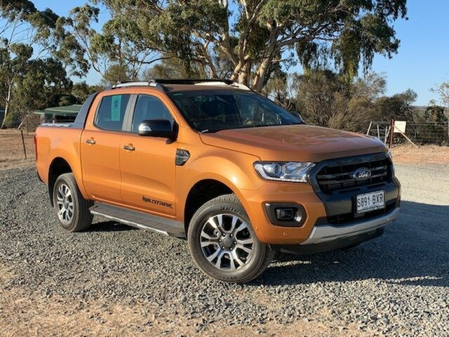 Demo Ford Ranger  , 2019 Ford Ranger PX III MY19 Wildtrak Saber 10 Speed Automatic Dual Cab