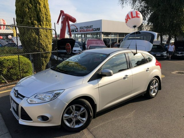 Used Ford Focus LW MkII MY14 Trend PwrShift, 2014 Ford Focus LW MkII MY14 Trend PwrShift Silver 6 Speed Sports Automatic Dual Clutch Hatchback