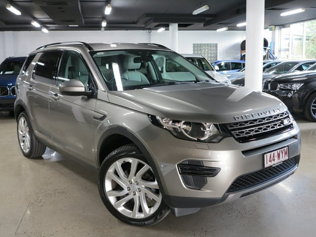 Used Land Rover Discovery Sport L550 17MY TD4 180 SE, 2017 Land Rover Discovery Sport L550 17MY TD4 180 SE Silicon Silver 9 Speed Sports Automatic Wagon