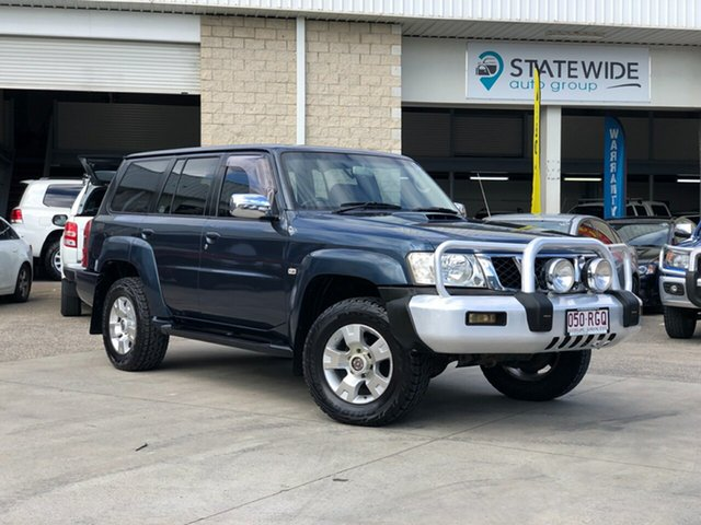 Used Nissan Patrol GU IV MY05 ST, 2005 Nissan Patrol GU IV MY05 ST Blue 4 Speed Automatic Wagon