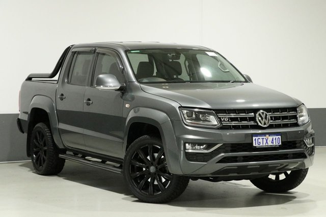 Used Volkswagen Amarok 2H MY17.5 V6 TDI 550 Ultimate, 2017 Volkswagen Amarok 2H MY17.5 V6 TDI 550 Ultimate Grey 8 Speed Automatic Dual Cab Utility