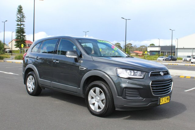 Used Holden Captiva CG MY16 LS 2WD, 2016 Holden Captiva CG MY16 LS 2WD Grey 6 Speed Sports Automatic Wagon