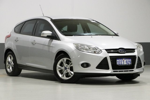 Used Ford Focus LW Trend, 2012 Ford Focus LW Trend Silver 6 Speed Automatic Hatchback