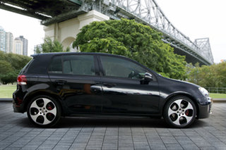 2011 Volkswagen Golf VI MY11 GTi Black 6 Speed Manual Hatchback.