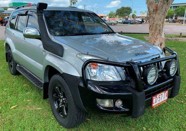 Used Toyota Landcruiser Prado KDJ120R GXL, 2006 Toyota Landcruiser Prado KDJ120R GXL Silver 5 Speed Automatic Wagon