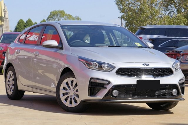 New Kia Cerato BD MY20 S, 2020 Kia Cerato BD MY20 S Silky Silver 6 Speed Sports Automatic Hatchback