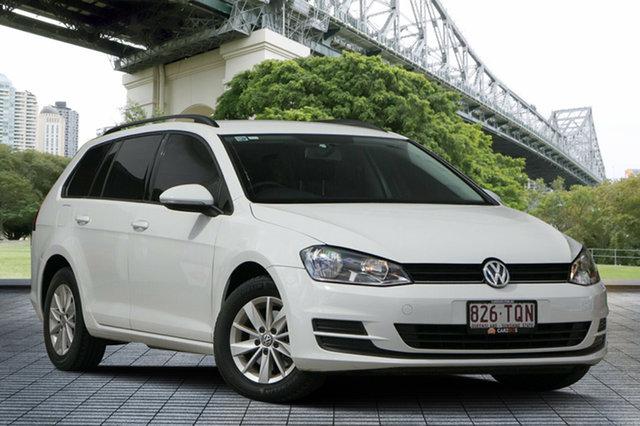 Used Volkswagen Golf VII 90TSI DSG, 2013 Volkswagen Golf VII 90TSI DSG White 7 Speed Sports Automatic Dual Clutch Hatchback