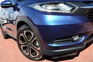 2018 Honda HR-V MY17 VTi-L Morpho Blue 1 Speed Constant Variable Hatchback.