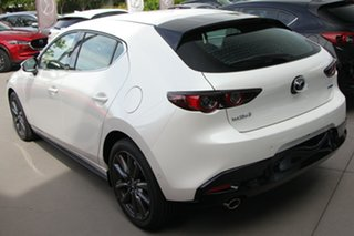 2020 Mazda 3 BP2HLA G25 SKYACTIV-Drive GT Snowflake White 6 Speed Sports Automatic Hatchback.