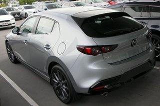 2020 Mazda 3 BP2HLA G25 SKYACTIV-Drive Evolve Sonic Silver 6 Speed Sports Automatic Hatchback.