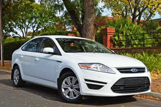 2014 Ford Mondeo MC LX White 6 Speed Sports Automatic Hatchback.