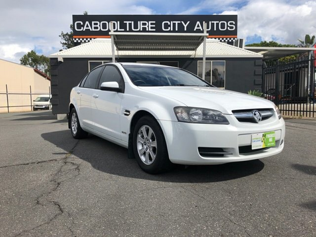 Used Holden Commodore VE MY10 Omega, 2010 Holden Commodore VE MY10 Omega White 4 Speed Automatic Sedan