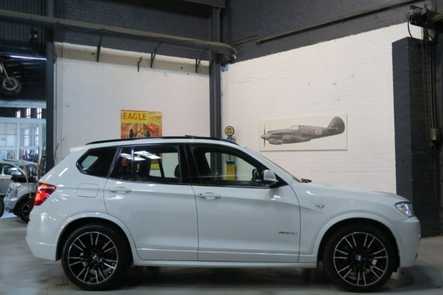 Used BMW X3 F25 MY1011 xDrive30d Steptronic, 2011 BMW X3 F25 MY1011 xDrive30d Steptronic White 8 Speed Automatic Wagon