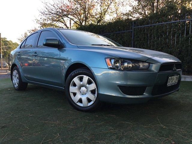 Used Mitsubishi Lancer CJ MY08 ES, 2007 Mitsubishi Lancer CJ MY08 ES Blue 5 Speed Manual Sedan