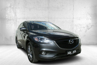 2014 Mazda CX-9 TB10A5 Luxury Activematic Grey 6 Speed Sports Automatic Wagon.