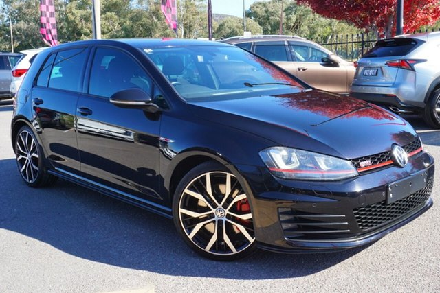 Used Volkswagen Golf VII MY14 GTI DSG Performance, 2014 Volkswagen Golf VII MY14 GTI DSG Performance Black 6 Speed Sports Automatic Dual Clutch