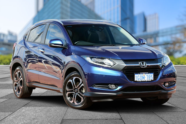 Demo Honda HR-V MY17 VTi-L, 2018 Honda HR-V MY17 VTi-L Morpho Blue 1 Speed Constant Variable Hatchback
