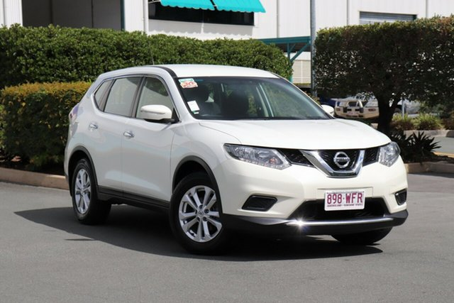Used Nissan X-Trail T32 ST X-tronic 2WD, 2015 Nissan X-Trail T32 ST X-tronic 2WD Pearl Black 7 Speed Constant Variable Wagon