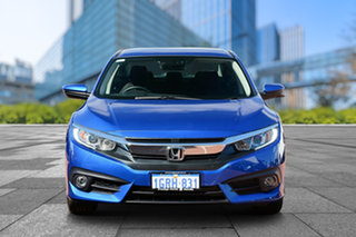2018 Honda Civic 10th Gen MY18 VTi-L Brilliant Sporty Blue 1 Speed Constant Variable Sedan