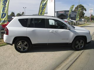 2015 Jeep Compass MK MY15 North White 6 Speed Sports Automatic Wagon