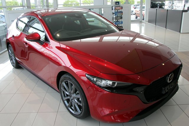 New Mazda 3 BP2H76 G20 SKYACTIV-MT Touring, 2019 Mazda 3 BP2H76 G20 SKYACTIV-MT Touring Soul Red Crystal 6 Speed Manual Hatchback