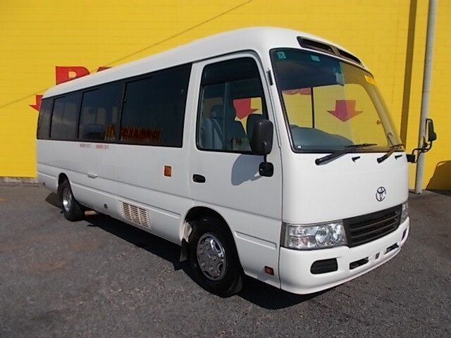 Used Toyota Coaster  , 2013 Toyota Coaster XZB50R DELUX White Passenger Bus