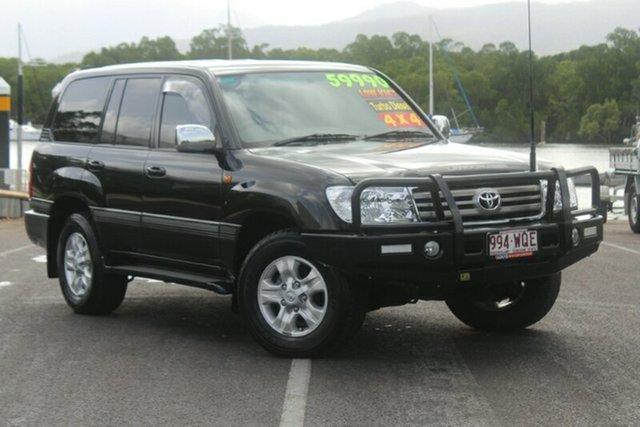 Used Toyota Landcruiser HDJ100R Sahara, 2006 Toyota Landcruiser HDJ100R Sahara Black 5 Speed Automatic Wagon