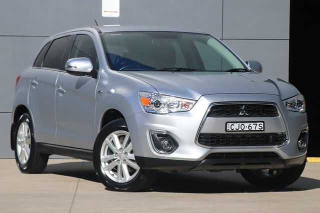 Used Mitsubishi ASX XB MY13 Aspire 2WD, 2013 Mitsubishi ASX XB MY13 Aspire 2WD Billet Silver 6 Speed Constant Variable Wagon