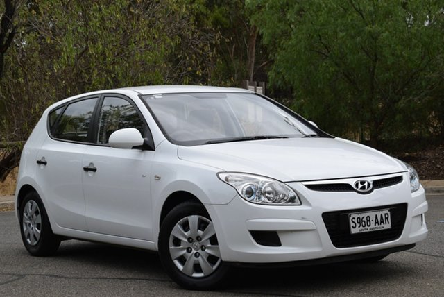 Used Hyundai i30 FD SX, 2008 Hyundai i30 FD SX White 5 Speed Manual Hatchback