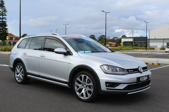 Used Volkswagen Golf  , 2016 Volkswagen Golf Alltrack - 132TSI Silver Sports Automatic Dual Clutch Wagon