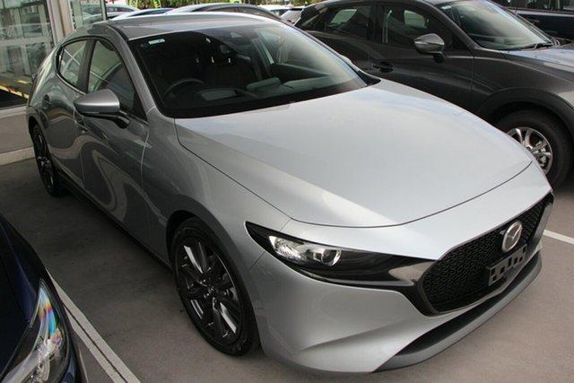 New Mazda 3 BP2HLA G25 SKYACTIV-Drive Evolve, 2019 Mazda 3 BP2HLA G25 SKYACTIV-Drive Evolve Sonic Silver 6 Speed Sports Automatic Hatchback