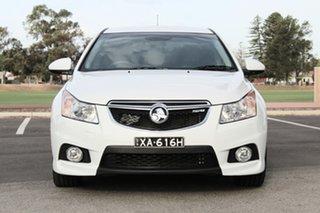2012 Holden Cruze JH Series II MY12 SRi-V White 6 Speed Sports Automatic Sedan.