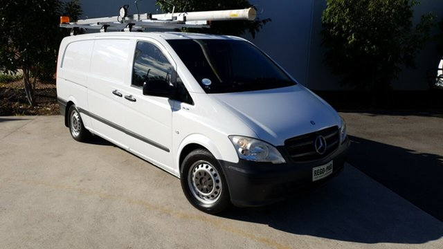 Used Mercedes-Benz Vito 639 MY11 113CDI SWB, 2012 Mercedes-Benz Vito 639 MY11 113CDI SWB White 5 Speed Automatic Van