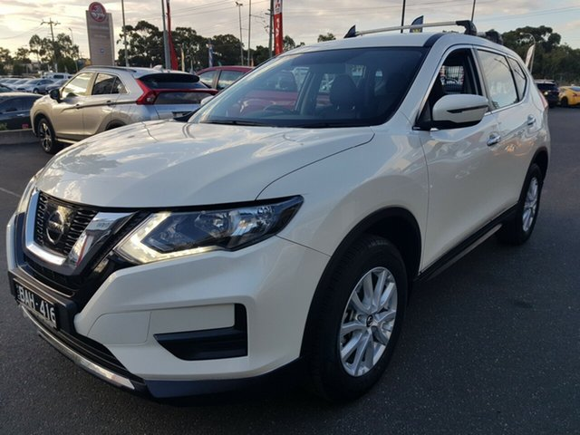Used Nissan X-Trail T32 Series II TS, 2017 Nissan X-Trail T32 Series II TS White Continuous Variable Wagon