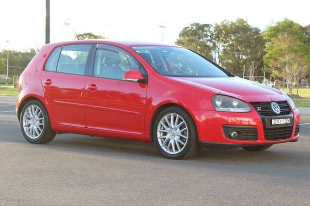 Used Volkswagen Golf  , 2008 Volkswagen Golf GT - Sport Red Manual Hatchback