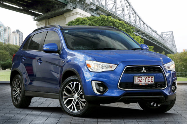 Used Mitsubishi ASX XB MY15.5 XLS 2WD, 2016 Mitsubishi ASX XB MY15.5 XLS 2WD Blue 6 Speed Constant Variable Wagon