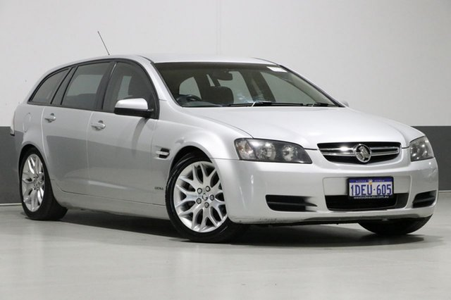 Used Holden Commodore VE MY10 Omega, 2009 Holden Commodore VE MY10 Omega Silver 6 Speed Automatic Sportswagon