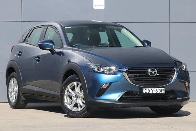 Used Mazda CX-3 DK2WSA Maxx SKYACTIV-Drive FWD Sport, 2018 Mazda CX-3 DK2WSA Maxx SKYACTIV-Drive FWD Sport Eternal Blue 6 Speed Sports Automatic Wagon