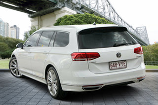 2015 Volkswagen Passat 3C (B8) MY16 132TSI DSG Comfortline White 7 Speed.