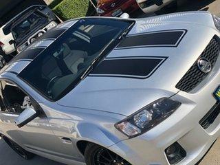 2011 Holden Commodore VE II SV6 Silver 6 Speed Manual Sedan