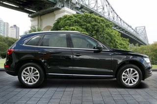 2014 Audi Q5 8R MY15 TDI S Tronic Quattro Black 7 Speed Sports Automatic Dual Clutch Wagon.