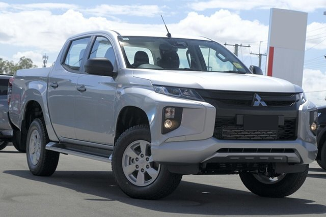 New Mitsubishi Triton MR MY19 GLX+ Double Cab, 2018 Mitsubishi Triton MR MY19 GLX+ Double Cab Sterling Silver 6 Speed Sports Automatic Utility
