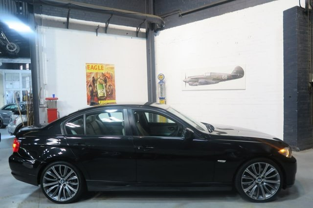Used BMW 320d E90 MY10 Executive Steptronic, 2010 BMW 320d E90 MY10 Executive Steptronic Black 6 Speed Sports Automatic Sedan
