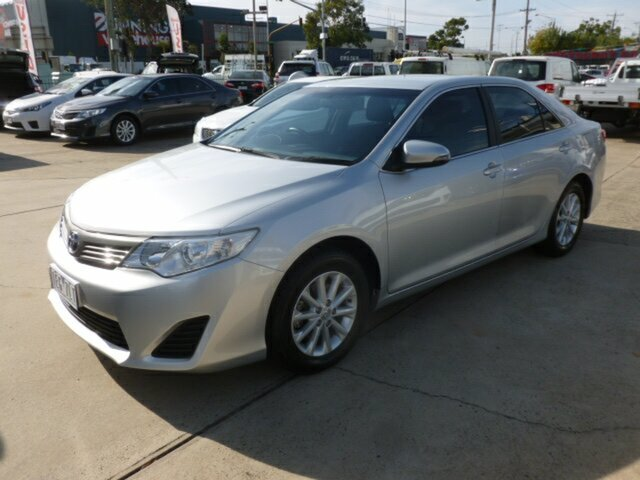 Used Toyota Camry ASV50R Altise, 2014 Toyota Camry ASV50R Altise Silver 6 Speed Automatic Sedan