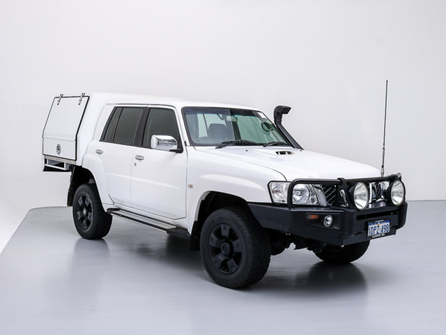 Used Nissan Patrol GU VII ST (4x4), 2011 Nissan Patrol GU VII ST (4x4) White 5 Speed Manual Wagon