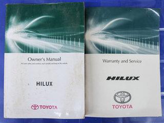 2012 Toyota Hilux KUN26R MY12 SR (4x4) White 5 Speed Manual Dual Cab Pick-up