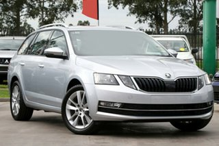2020 Skoda Octavia NE MY20.5 110TSI DSG Brilliant Silver 7 Speed Sports Automatic Dual Clutch Wagon.
