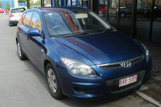Used Hyundai i30 FD MY11 SLX, 2011 Hyundai i30 FD MY11 SLX Blue 4 Speed Automatic Hatchback