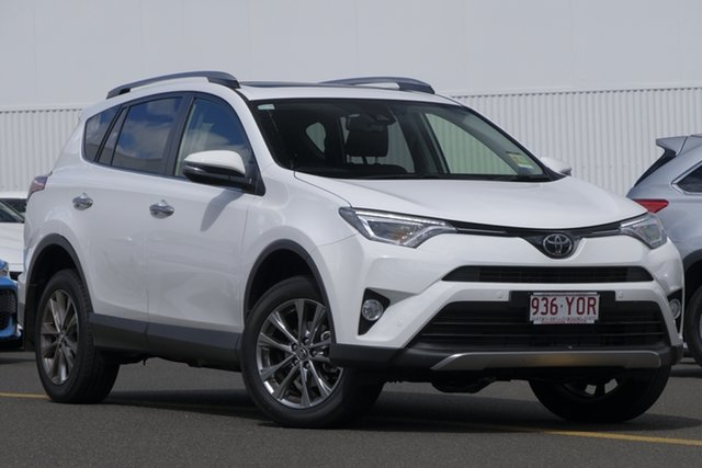Demo Toyota RAV4 ASA44R Cruiser AWD, 2018 Toyota RAV4 ASA44R Cruiser AWD Glacier White 6 Speed Sports Automatic Wagon